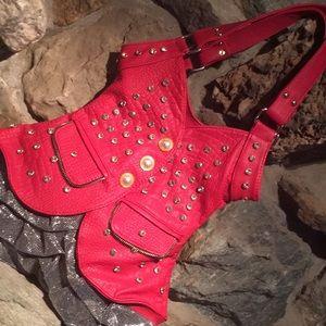 Handbags - Red Vest Style Purse